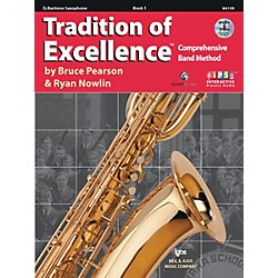 KJOS Tradition Of Excellence Book 1 for Bari Sax (W61XR)