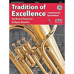 KJOS Tradition Of Excellence Book 1 for Baritone Tc (W61TC)
