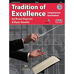 KJOS Tradition Of Excellence Book 1 for Conductor (W61F)