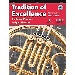 KJOS Tradition Of Excellence Book 1 for Horn (W61HF)