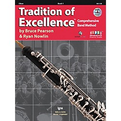KJOS Tradition Of Excellence Book 1 for Oboe (W61OB)