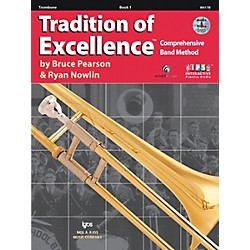 KJOS Tradition Of Excellence Book 1 for Trombone (W61TB)