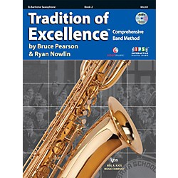 KJOS Tradition Of Excellence Book 2 for Bari Sax (W62XR)