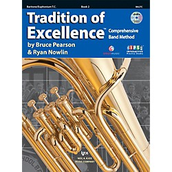 KJOS Tradition Of Excellence Book 2 for Baritone TC (W62TC)