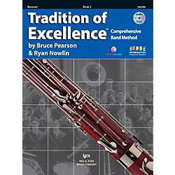 KJOS Tradition Of Excellence Book 2 for Bassoon (W62BN)