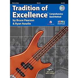 KJOS Tradition Of Excellence Book 2 for Electric Bass (W62EBS)