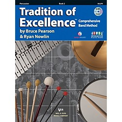 KJOS Tradition Of Excellence Book 2 for Percussion (W62PR)
