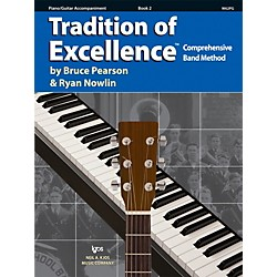 KJOS Tradition Of Excellence Book 2 for Piano / Guitar (W62PG)