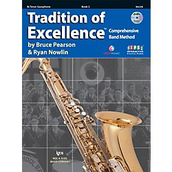 KJOS Tradition Of Excellence Book 2 for Tenor Sax (W62XB)