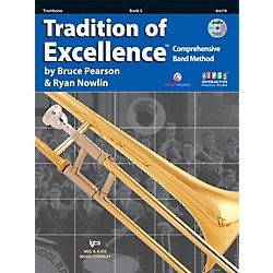 KJOS Tradition Of Excellence Book 2 for Trombone (W62TB)
