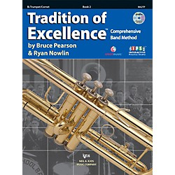 KJOS Tradition Of Excellence Book 2 for Trumpet (W62TP)