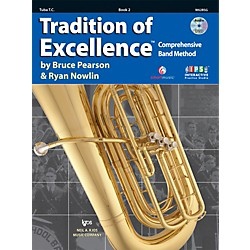 KJOS Tradition Of Excellence Book 2 for Tuba TC (W62BSG)