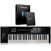 Native Instruments KOMPLETE KONTROL S49 Keyboard Controller with KOMPLETE 11 Ultimate