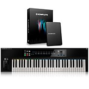 Native Instruments KOMPLETE KONTROL S61 Keyboard Controller with KOMPLETE 11