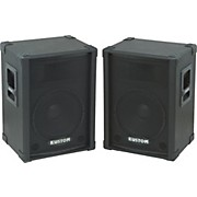 "Kustom PA KPC12 12"" PA SPeaker Cabinet with Horn Pair"