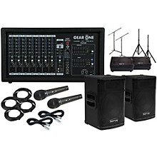 """Kustom PA KPX112 12"""" Speaker with PA2400 10"""" Monitor Package"""