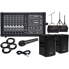 "Kustom PA KPX112 12"" with Phonic Powerpod 780 Mains and 10"" Monitors Package"