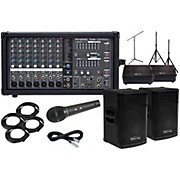 "Kustom PA KPX15 15"" with Phonic Powerpod 780 Mains and 10"" Monitors Package"