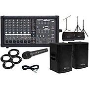 "Kustom PA KPX15 15"" with Phonic Powerpod 780 Mains and 12"" Monitors Package"