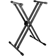 On-Stage Stands KS8291 Heavy-Duty Deluxe X ERGO-LOK Keyboard Stand
