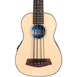 Kala Solid Top Acoustic Electric U-Bass (UBASS-SSMHG-FS)