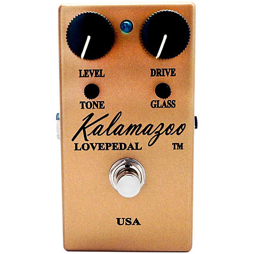 Lovepedal Kalamazoo Gold Overdrive Guitar Effects Pedal-thumbnail
