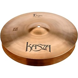 Kasza Cymbals Light Top/Medium Bottom Fusion Hi-hat Cymbals (F14HHLM)