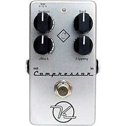 Keeley 4-Knob Compressor Guitar Effects Pedal (4KNOBCOMPRESSOR)
