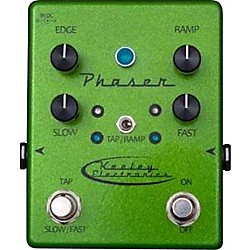 Keeley Phaser Guitar Effects Pedal (PHASERGREEN)