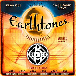 Kerly Music Earthtones Phosphor Bronze Acoustic Guitar Strings - Light (KQXA-1152)