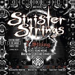 Kerly Music Sinister Strings NPS 7 String Custom Heavy Electric Guitar Strings (KQXS7-1160)