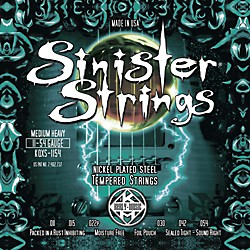 Kerly Music Sinister Strings NPS Low Tune Electric Guitar Strings (KQXS-1154)