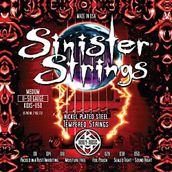 Kerly Music Sinister Strings Nickel Wound Electric Guitar Strings - Medium (KQXS-1150)