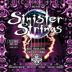 Kerly Music Sinister Strings Nickel Wound Electric Guitar Strings Light (KQXS-1052)