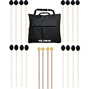 Vic Firth Keyboard Mallet 10-Pack w/ Free Mallet Bag - M183(4), M187(4) ,M134(2)