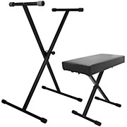 On-Stage Stands Keyboard Stand and Bench Pack