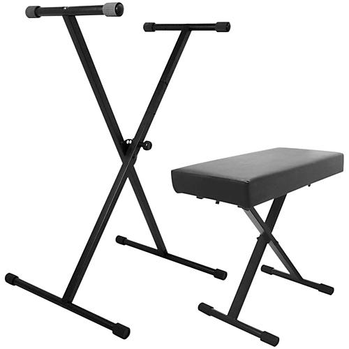 On-Stage Stands Keyboard Stand and Bench Pack-thumbnail