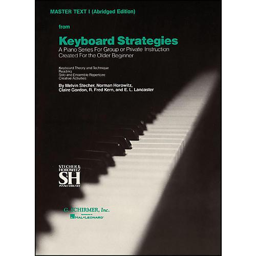 Music Sales Keyboard Strategies Vol 1 Pn Abridged Master By Stecher