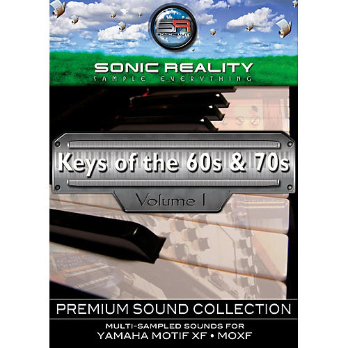 Sonic Reality Keys of the '60s and '70s for Motif Activation Card-thumbnail