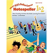 Alfred Kid's Guitar Course Notespeller 1 & 2 Book
