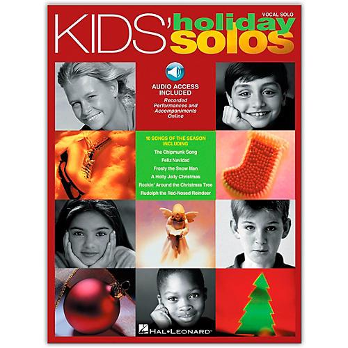 Hal Leonard Kids' Holiday Solos Book/CD