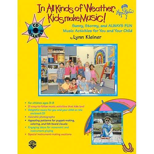 Alfred Kids Make Music Series: In All Kinds of Weather, Kids Make Music Book & CD