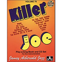 Jamey Aebersold Killer Joe Play-Along Book with CD