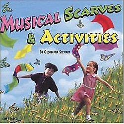 Kimbo Musical Scarves & Activities (KIM9167CD)