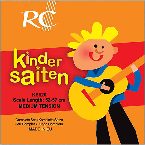 RC Strings Kindersaiten KS520 Nylon Guitar Strings (52-57)-thumbnail