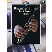 Schott Klezmer Tunes for Clarinet (24 Pieces) Woodwind Series BK/CD