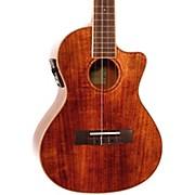 Kala Koa Tenor Cutaway Gloss Acoustic-Electric Ukulele