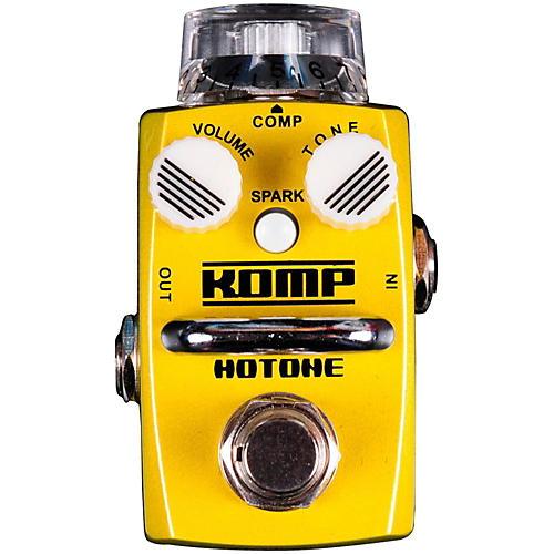 Hotone Effects Komp Opto Compressor Skyline Series Guitar Effects Pedal-thumbnail