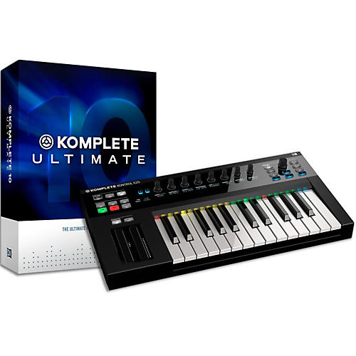 Native Instruments Komplete 10 Ultimate and Kontrol S25 Keyboard Bundle-thumbnail