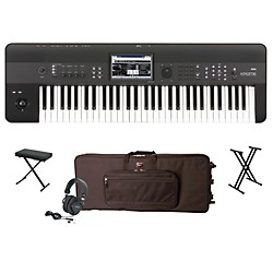 Korg Krome 61-Key Workstation Package 1 (KORGKROME61WP1)